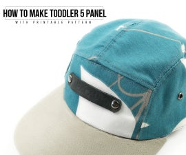 How to Make Toddler 5 Panel