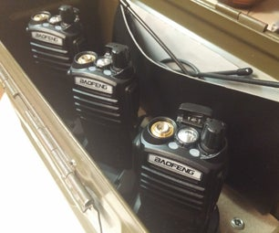 Radio Go Box (Ham, MURS, GMRS and FRS)