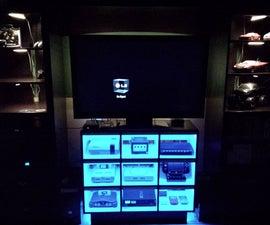 Console Gaming Shelf
