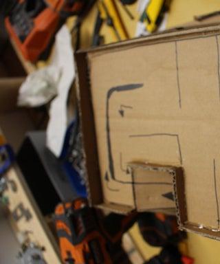 3 Tiered Toy Cardboard Parking Garage