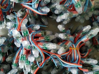 LEDs, Arduino and Color Sensor