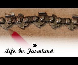 ChainSaw Chain Basics: 101 - What Size Chain You Need If You Can't Read the Markings on the Bar.