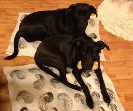 No Sew Dog Beds
