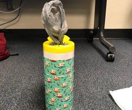 Plastic Grocery Bag Dispenser