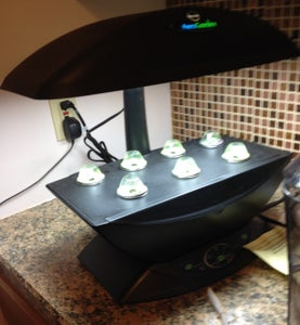 DIY Aerogarden Reflector Power - Grow Light Booster