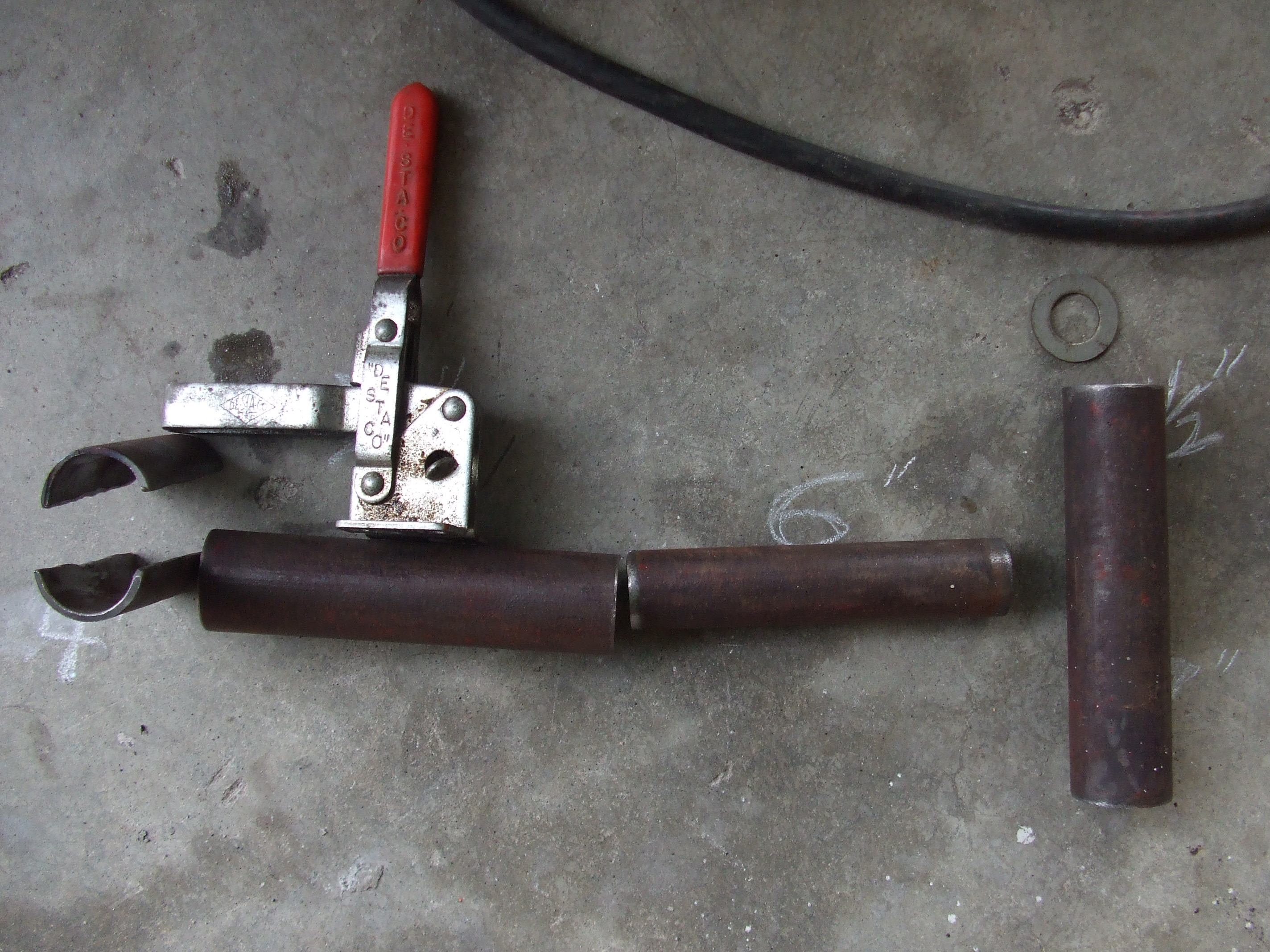Picture of Clamping Section