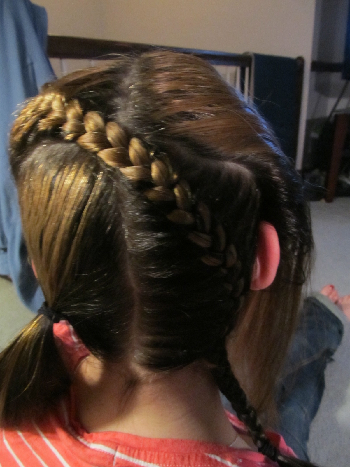 Picture of Finishing the First Braid