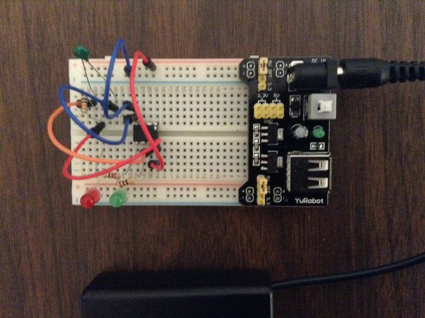 Picture of Wire the Breadboard