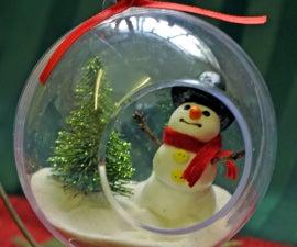 Let it Snow! Snowman Ornament