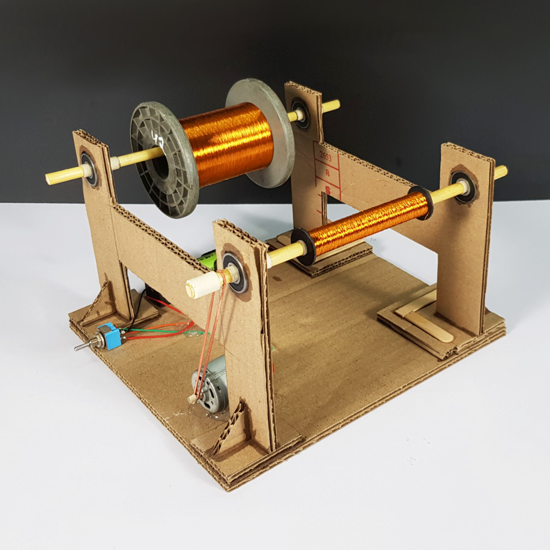 Picture of DIY - Coil Winding Machine