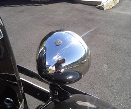 Chrome Plating of Car Headlights and Parts