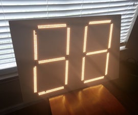 Giant Two-Digit Countdown Clock
