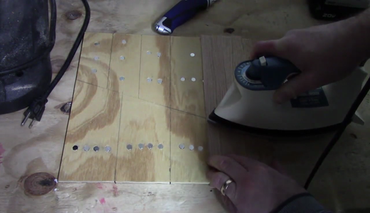 Add the Veneer Over the Magnets