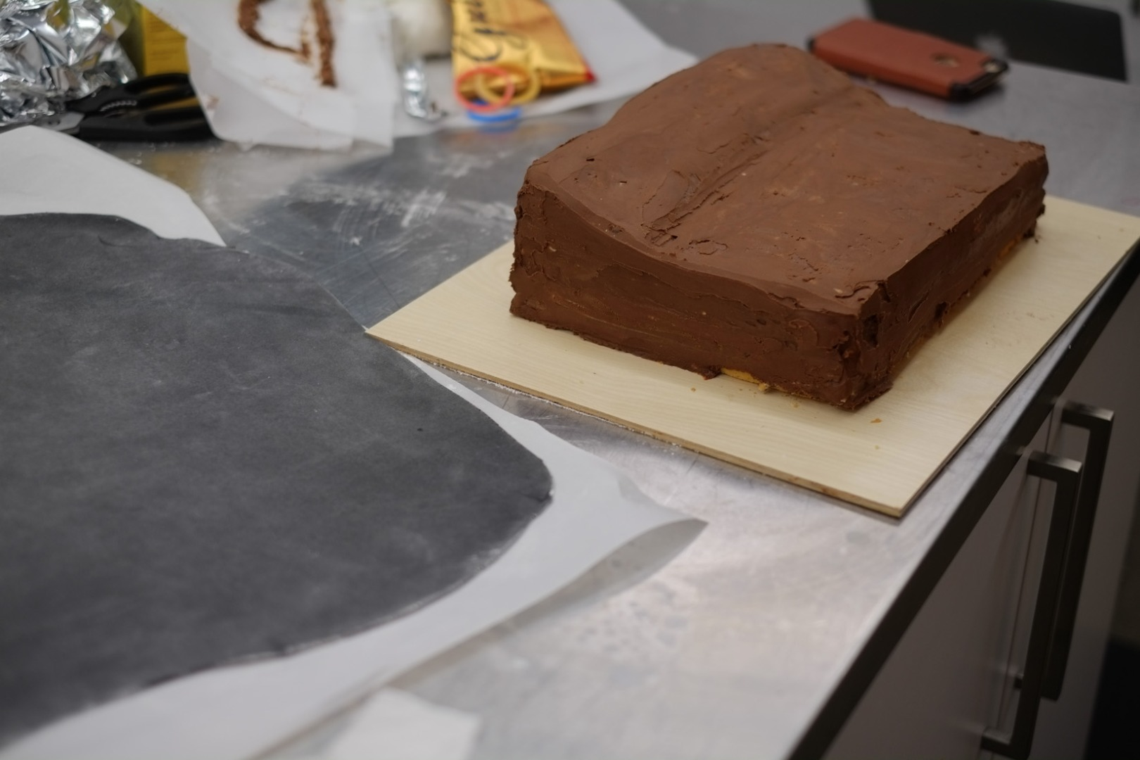 Picture of Cover Cake in Fondant