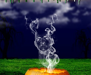 Scary Pumpkin With Your Face From Scratch - Photoshop Cs5