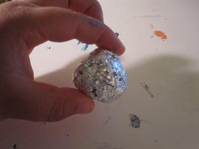 Make a Ball Out of Tin Foil