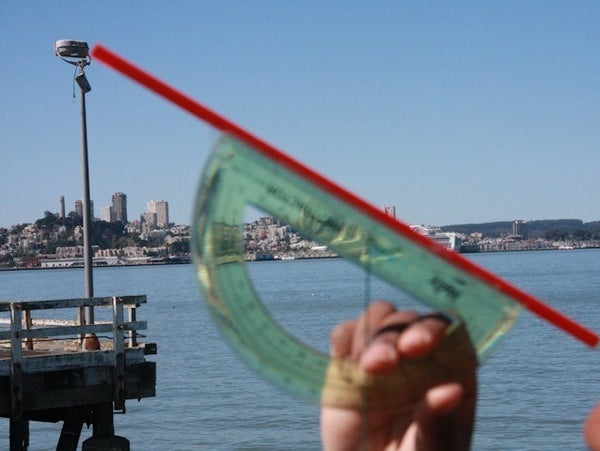 Using a Clinometer to Measure Height