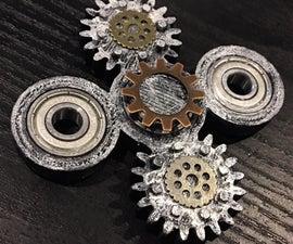Steampunk Fidget Spinner