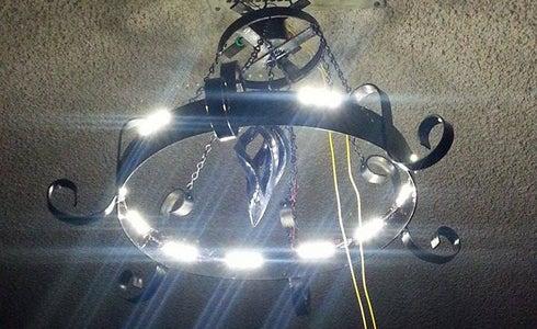 Iron LED Chandelier