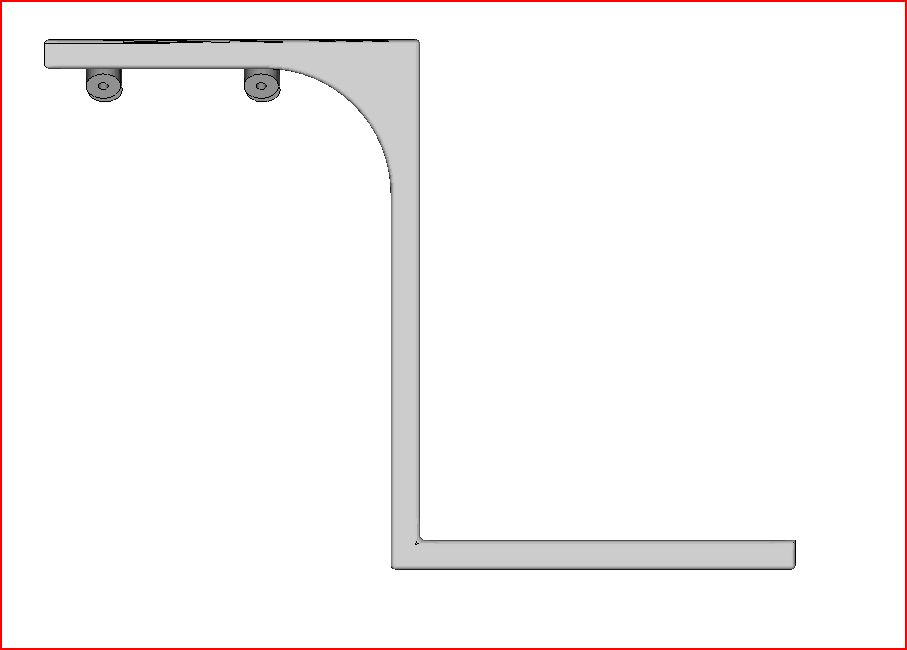 Picture of Home and Office Improvement: Box Holding Brackets.  I Made It at TechShop.