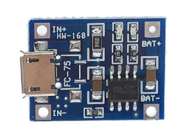 Soldering Charger Circuit and Battery