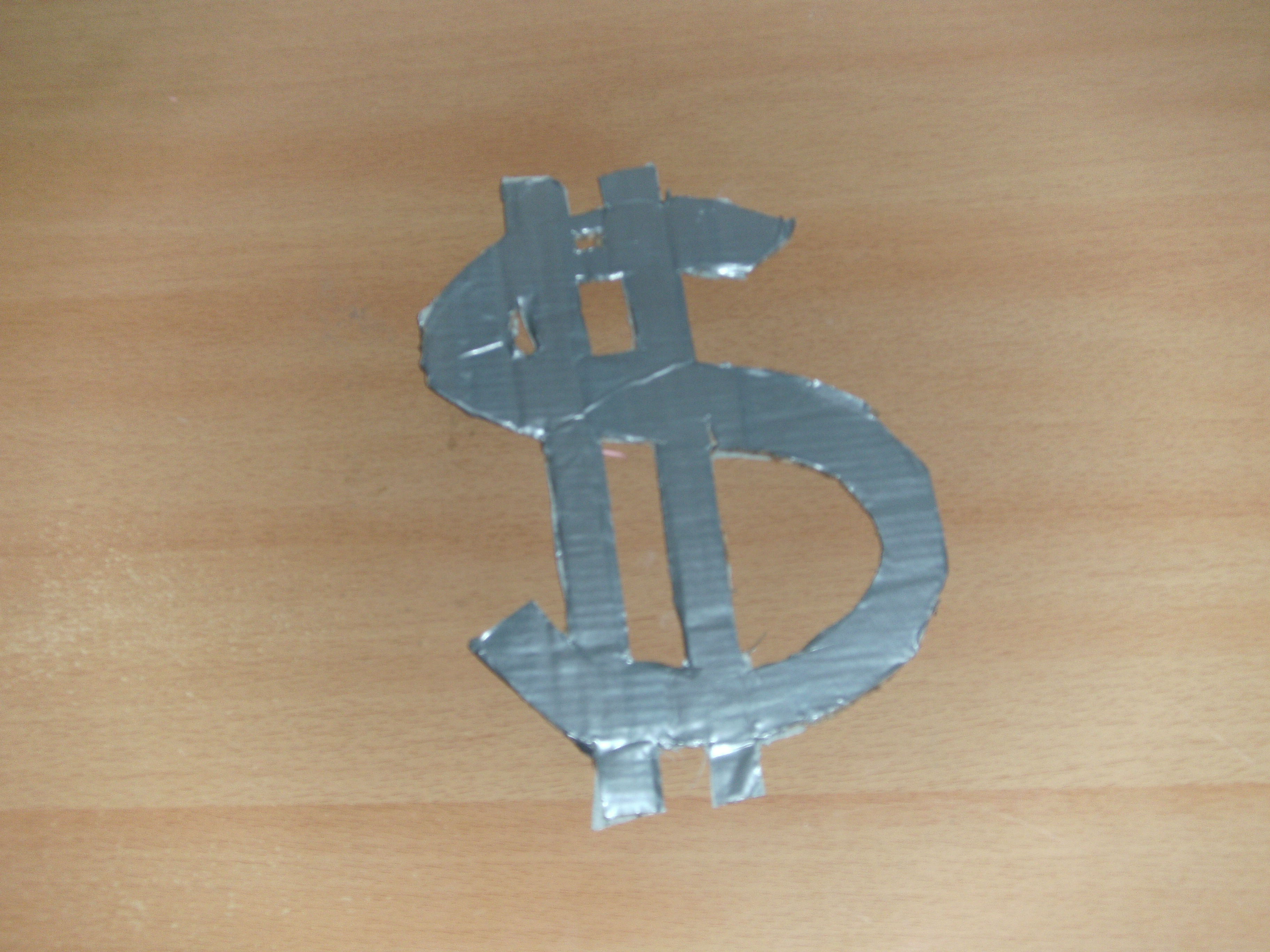 Picture of Duct Tape Dollar Sign