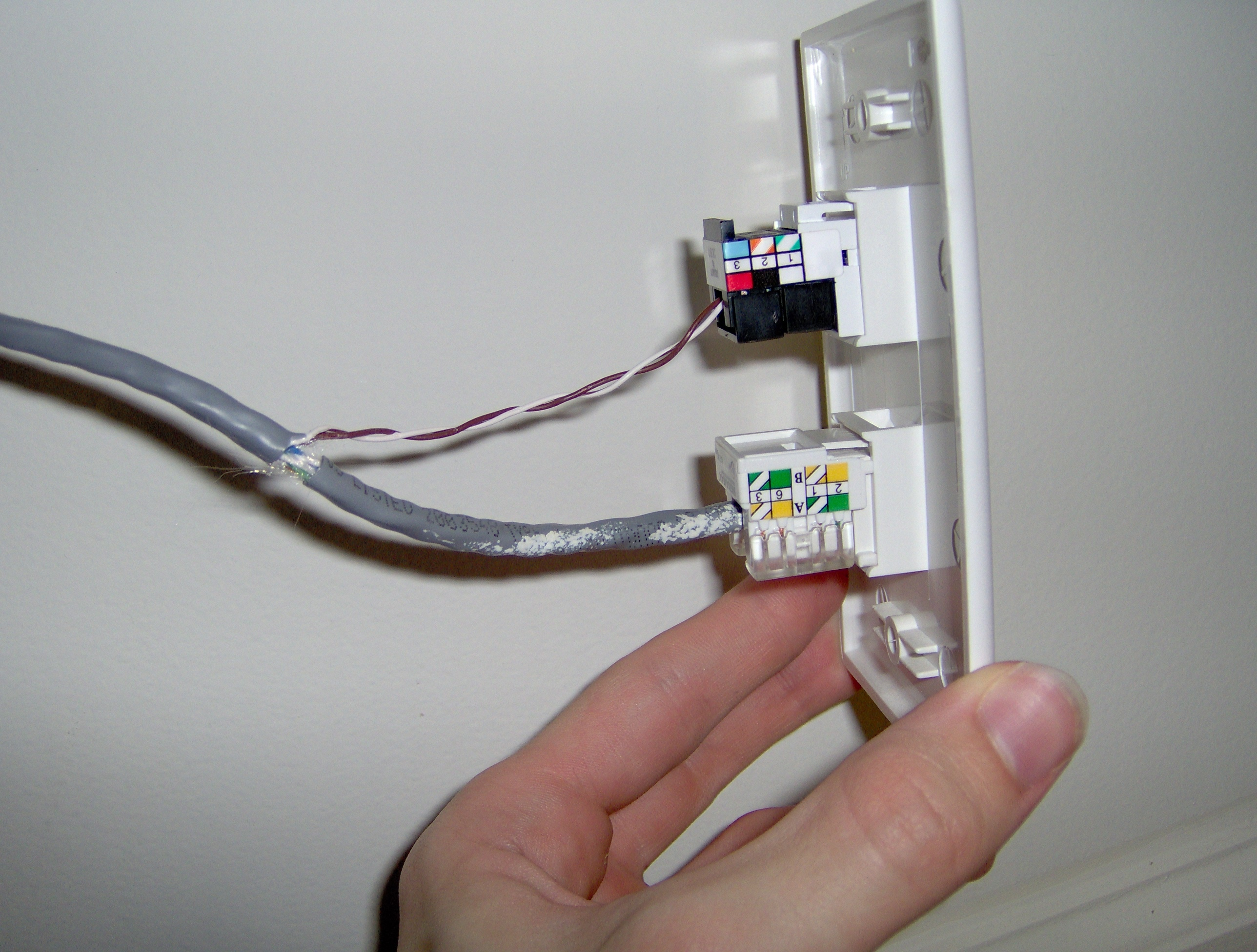 rj31x wiring fire alarm from router wiring diagram  panel wiring diagram rj31x jack wiring diagram hack your house run both ethernet and phone over existing cat 5hack your house run both