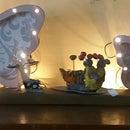 DIY Butterfly Light Decoration