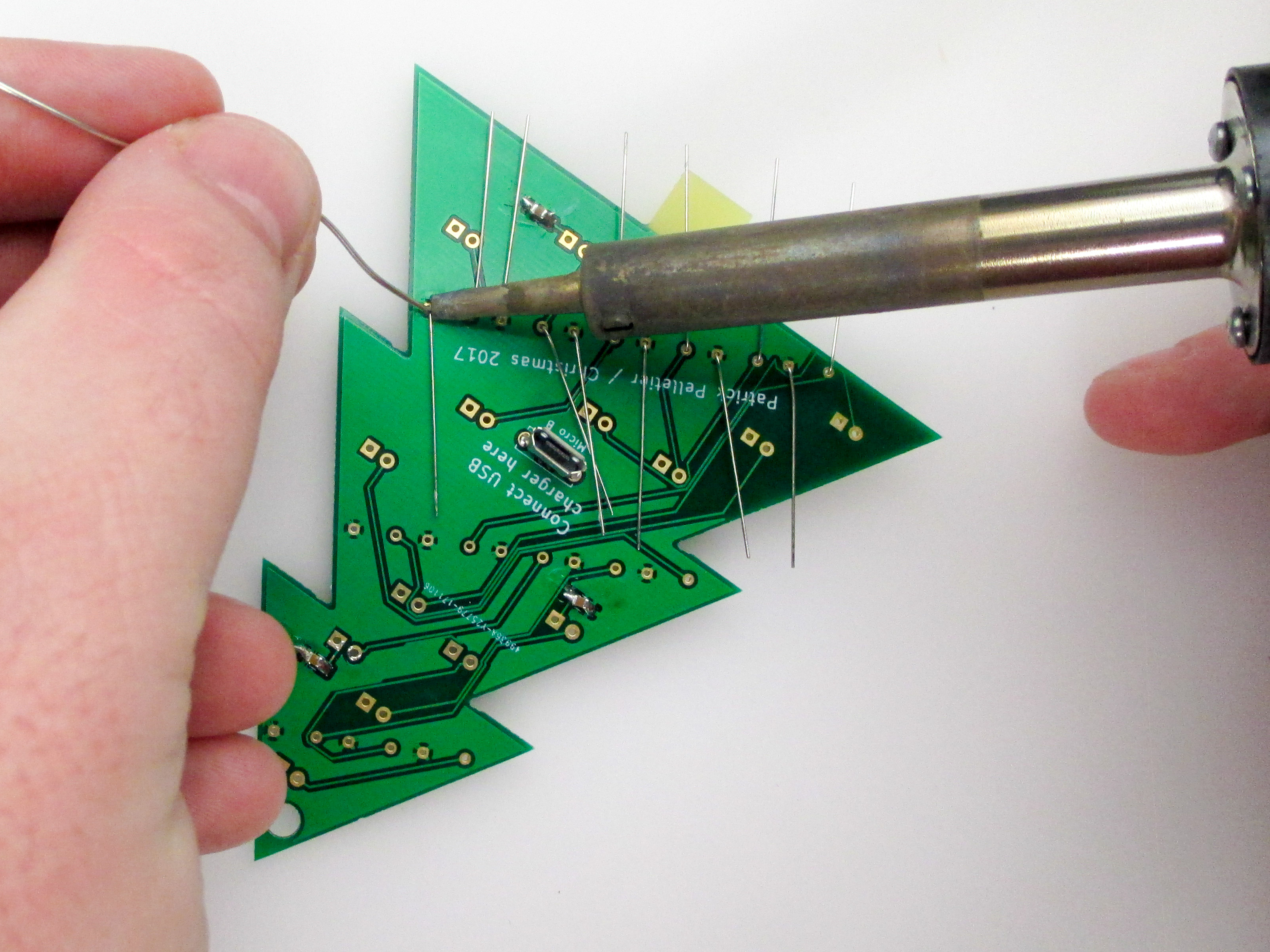 Picture of Solder the Resistors