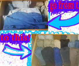 Organize Your Pants Drawer Like a Pro