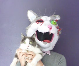 The Making of a Zombie Cat Mask