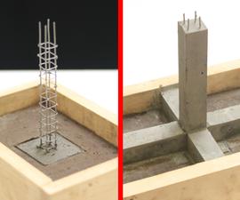 Concrete House Model