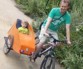 Bicycle Sidecar/Велосипедная Коляска
