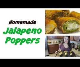 Homemade Jalapeno Poppers From Scratch