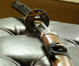 Japanese Sword Scabbard