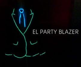 Illuminated Party Blazer (EL wire)