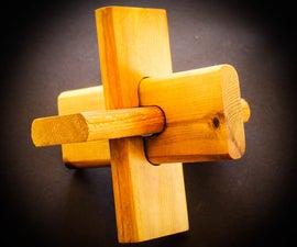 Wooden Lock Puzzle
