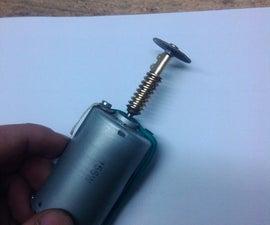 Homemade Mini Dremel Tool