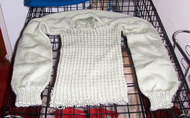 How to Recycle an Old Sweater (or a Botched One) Into Usable