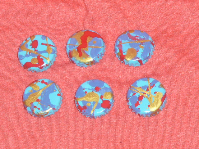 Picture of DIY Splatterpainted Magnets