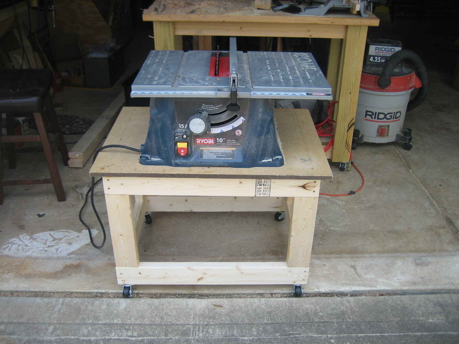 Picture of I SECURED THE TABLE SAW