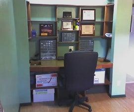 Turn a Closet Into a Desk