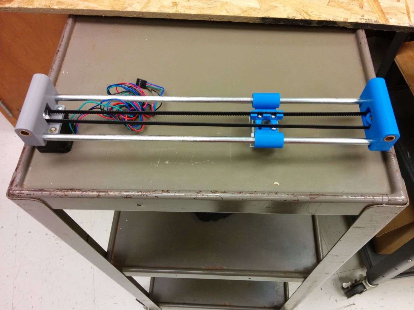 Picture of Finishing the Y-Axis