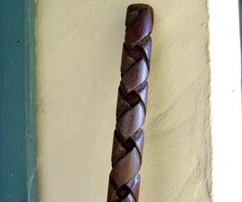 Celtic Knot Walking Stick