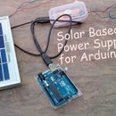 Solar Based Power Supply for Arduino