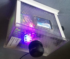 Touchscreen Musicbox With Lightshow 2.0
