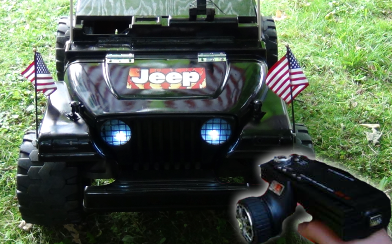 Picture of RC Power Wheels: Part 1