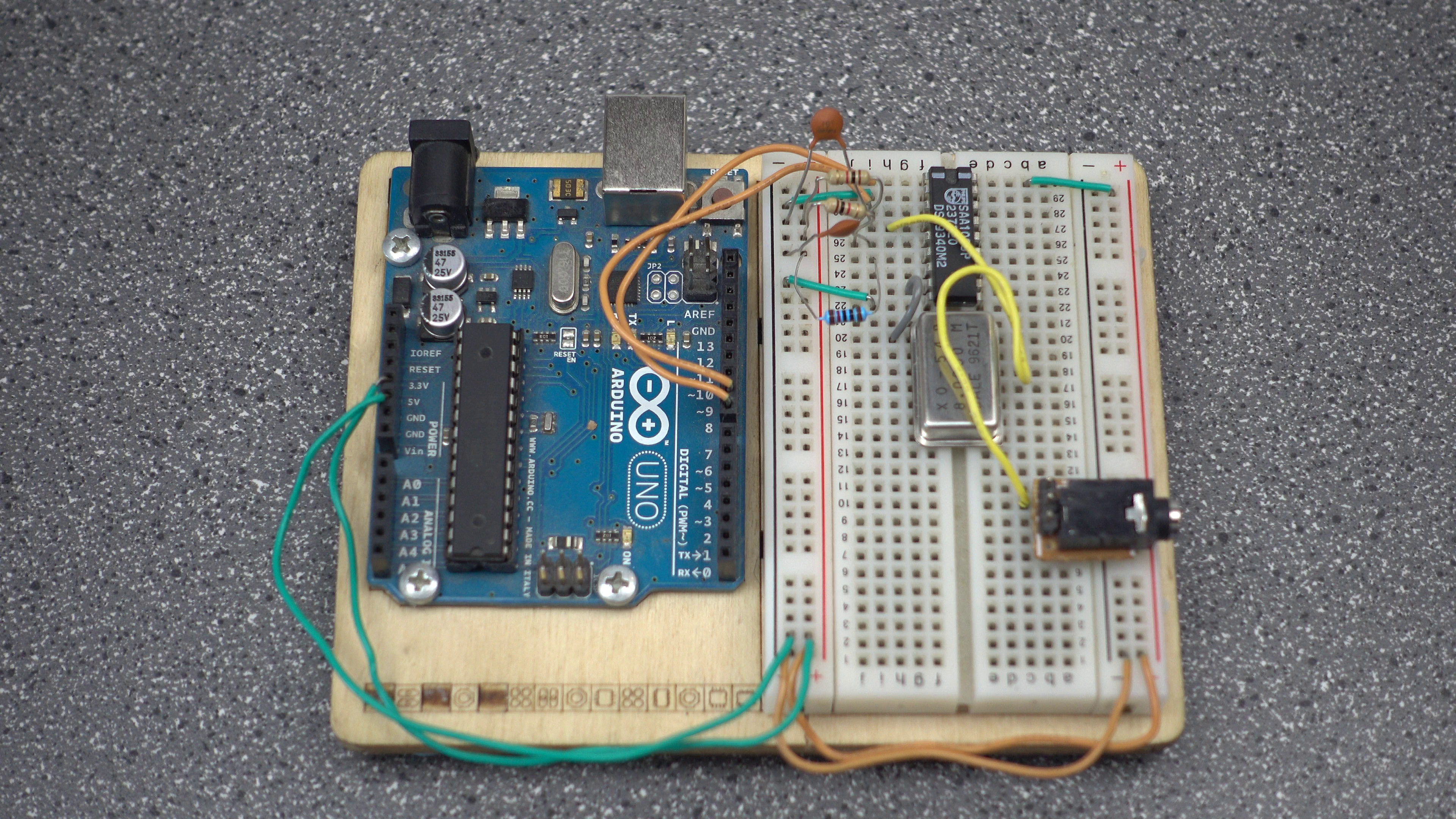 Picture of Wiring - Power to Breadboard