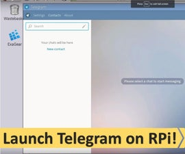 Easy Messaging on ARM With Telegram (on RPI)