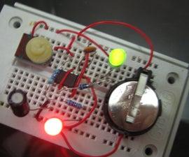 555 Timer LED Flasher